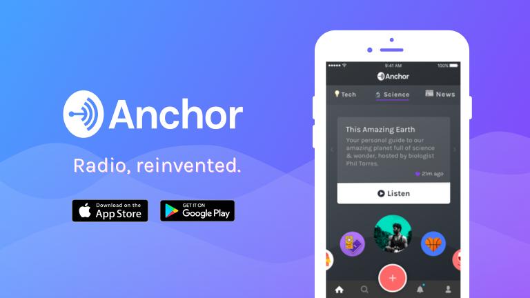 anchor   radio reinvented